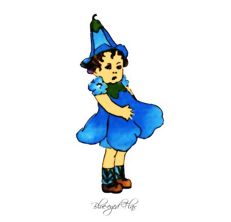 flax: Blue-eyed Flax
