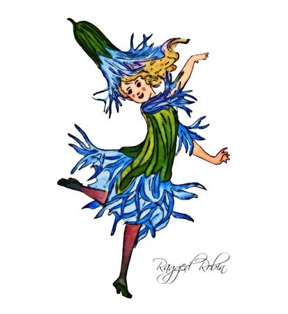 ragged robin: Ragged Robin Illustration