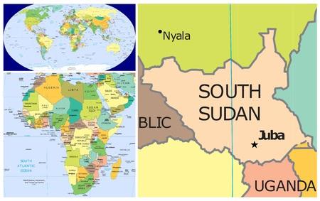 Zuid-Soedan en Afrika