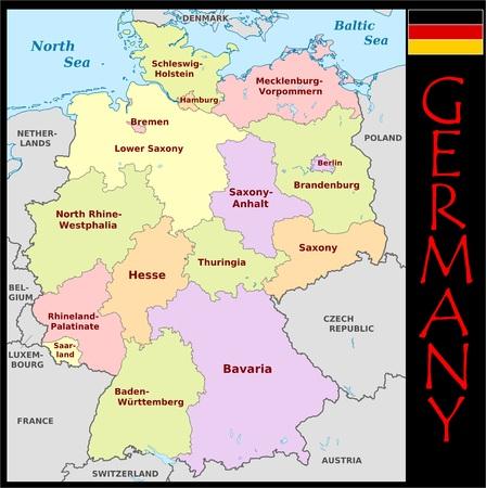 Duitse administratieve afdelingen