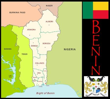 Benin administratieve afdelingen