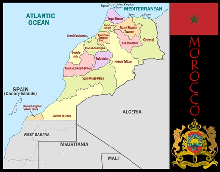 Marokko administratieve afdelingen
