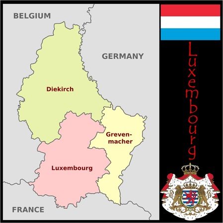 Luxembourg administrative divisions