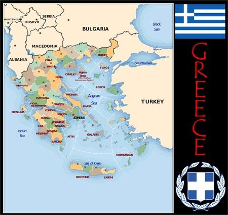 Administratieve afdelingen in Griekenland