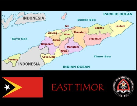 Oost-Timor administratieve afdelingen