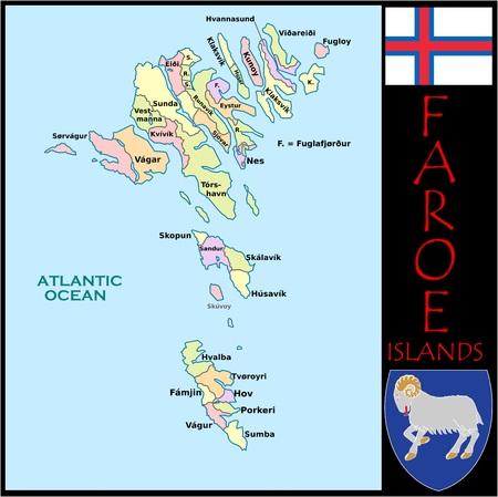 Faroe Islands administratieve divisies