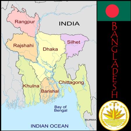 Bangladesh administratieve afdelingen