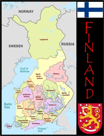 Finland administrative divisions