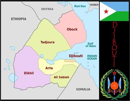Djibouti administratieve afdelingen