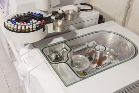 Test tubes in a laboratory Standard-Bild