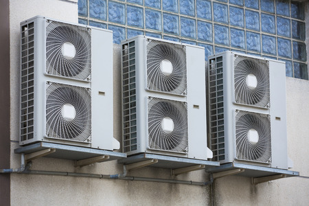 Air conditioning compressor Standard-Bild