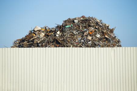 ferraille: Scrap dans le centre de recyclage