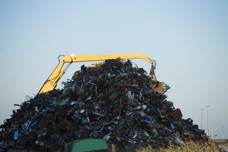 ferraille: Scrap lieu Banque d'images