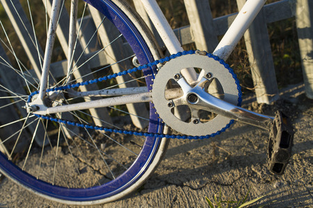 fixed: Details of fixed bike