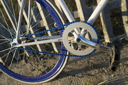 fixed: Detalles de bicicleta fija