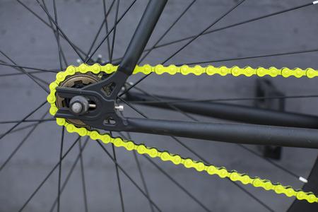 clavados: Los detalles de la bicicleta fixie. bicicleta fija.