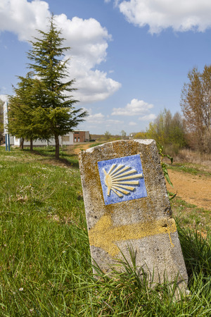 santiago: Symbol of the camino de Santiago Editorial