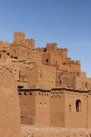 Aït-ben-Haddou, World Heritage Site in Morocco 新聞圖片