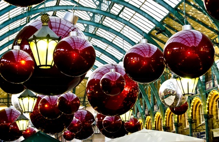 Balls in Coven garden market, london photo