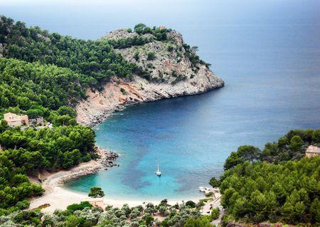 lanscape: Cala of Mallorca