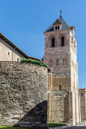 The rooster of the Basilica of San Isidoro de León is a vane located on top of the Romanesque tower belonging to this temple. (Spain)