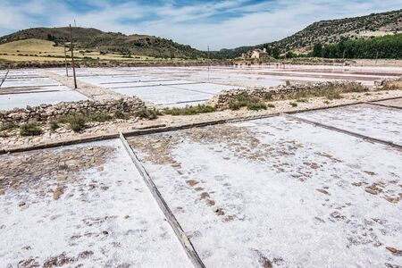 Reservoir or interior salinas in Guadalajara, historic and the most important in Spain. They are located in Imon.