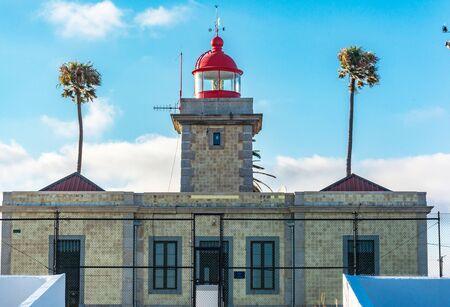 Lighthouse located in Ponta da Piedade in Lagoa (Algarve, Portugal)