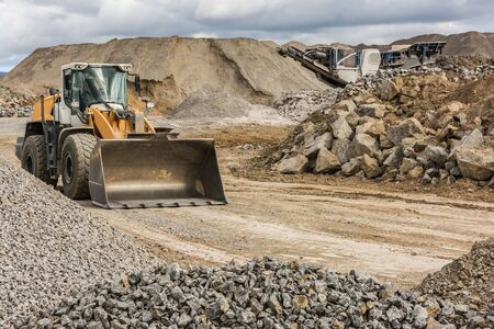 Stone and rock processing plant to transform into gravel