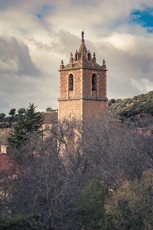 Church of San Juan Bautista in Santibañez de Ayllon (Santa María de Riaza, Segovia)