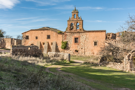 Ruins of the Convent of San Roque. Medinaceli, province of Soria, Castile and León, Spain 報道画像
