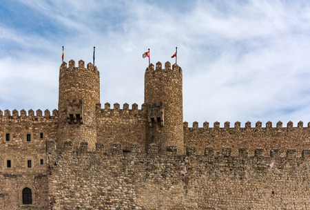 The castle of Siguenza is now a hotel in the province of Guadalajara (Spain)