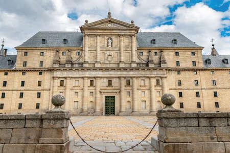 Palace of San Lorenzo de El Escorial in Madrid, Spain