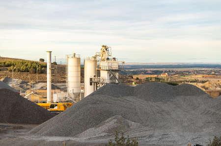 Open pit mine in the province of �vila (Spain)