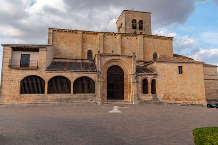 Church of Our Lady of La Peña in Sepulveda in the province of Segovia (Spain)