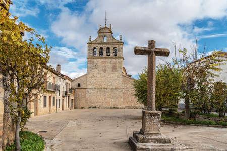 Church of San Juan Bautista in Urueñas in the province of Segova (Spain)