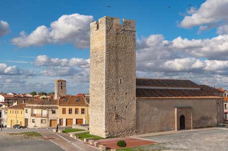 Church of San Martin in Cuellar, in the province of Segovia (Spain) Stock fotó
