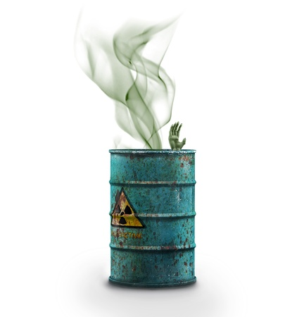 humo: 3d image of radioactive container