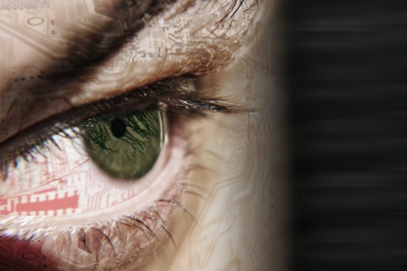picture green eye