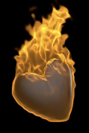 throbbing: hot heart
