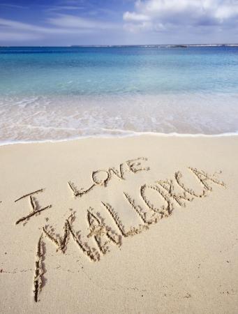 Love Majorca Stock Photo - 17205142
