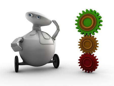sprocket: robot and sprocket