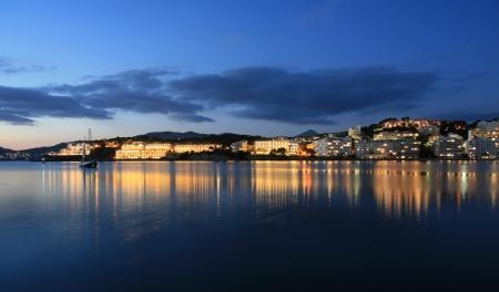 sunset in majorca