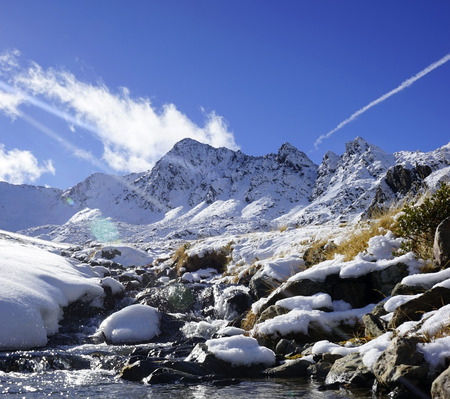 excursions: landscape of mountains in Andorra