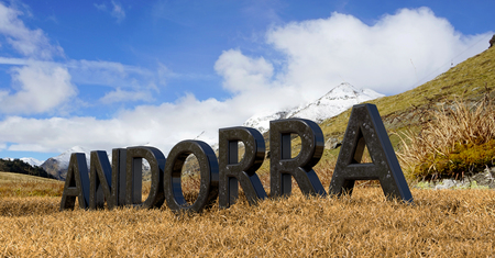 tourism in andorra: landscape of mountains in Andorra
