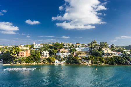 menorca: spring menorca coast  in balearic islands
