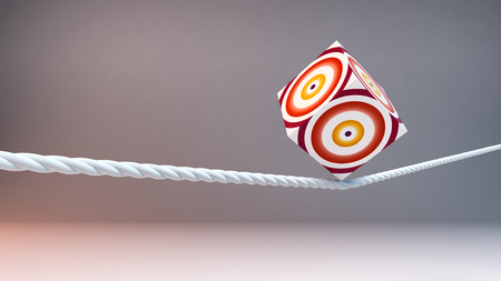 concept of balance and stability, rope