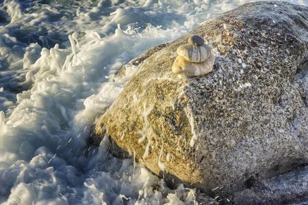 Illustration 3D du concept de pierres zen
