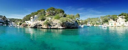 mallorca: Coastal village of cala figuera, in mallorca, spain Stock Photo