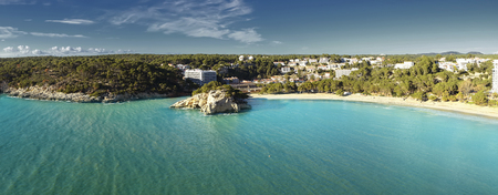 cala galdana, menorca tourism in balearic islands