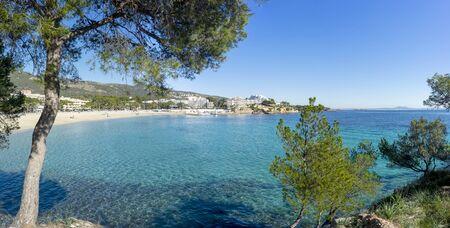 Playa de Palma Nova beach and Magalluf beach, Majorca, Spain
